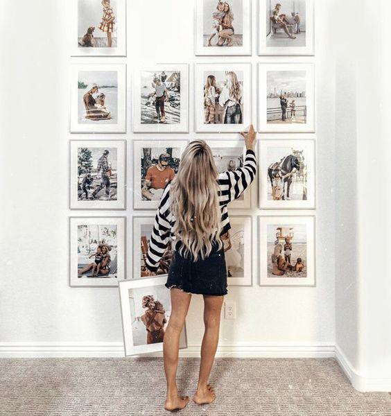 Nejkrásnější dekorace do nového bytu? Fotorámečky!